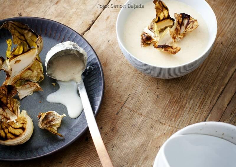Wochenplan wärmend Herbst: Suppe Röstblumenkohl