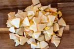 Zubereitung: Äpfel schneiden und entkernen