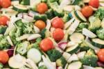 Zubereitung: Gemüse in kleine Würfel schneiden