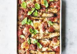 Zucchiniauflauf alla Parmigiana
