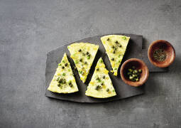 Gemüse-Frittata mit Kapern