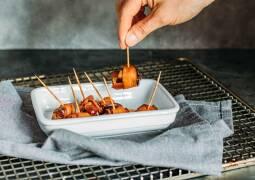 Veganes Rezept: Datteln im Auberginenmantel 1