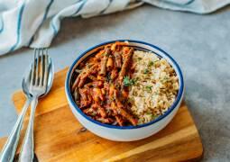 Veganes Rezept: Fasolakia mit Reis 1
