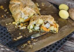 Veganes Rezept: Kartoffel-Bärlauch-Strudel_1
