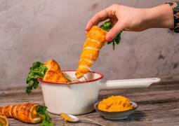 Veganes Rezept: Vegane Oster-Snack-Karotten 1