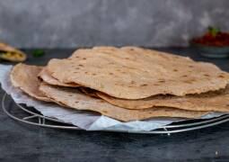Veganes Rezept: Dinkel-Vollkorn-Wraps 1
