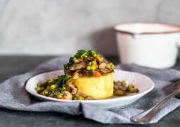 Veganes Rezept: Mashed potatoes mit Pilzragout 1