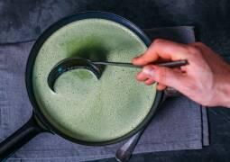 Veganes Rezept: Spinat Kokos Suppe 1