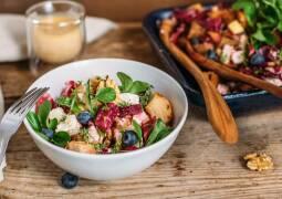 Vegetarisches Rezept: Winterlicher Brotsalat 1