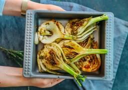 Veganes Rezept: Gegrillter Fenchel mit Zitronenöl 1