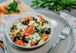 Vegetarisches Rezept: Mediterraner Reissalat_1
