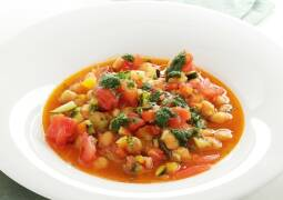 Veganes Rezept: Kichererbsen-Eintopf mit Gemüse 1