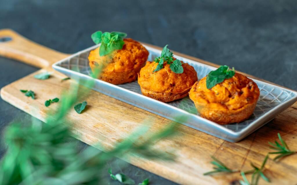 Veganes Rezept: Herzhafte Muffins_2