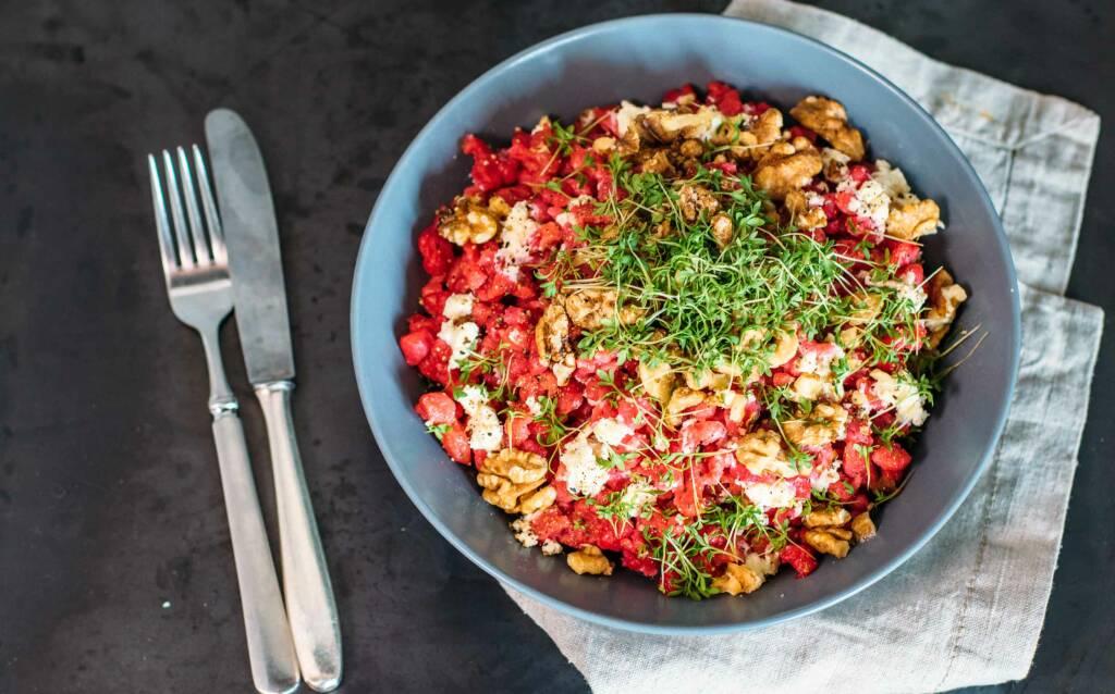 Vegetarisches Rezept: Rote Bete Spätzle 2